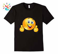 Street casual custom emoji shirt with clean cotton t-shirt custom clothes women t shirt wholesale