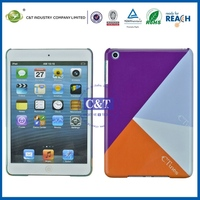 sublimation cell phone case/cover printing bumper for ipad mini
