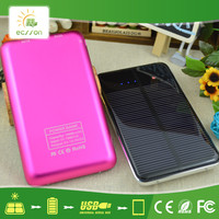 High efficient safety diy solar powered phone charger