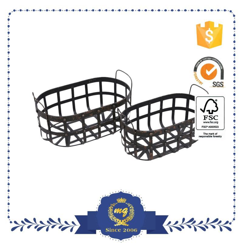 Best Selling Crafts Metal Golf Ball Basket