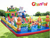 Hot sale big new large inflatable fun city games for kids