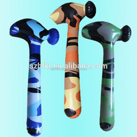 top quality inflatable camouflage hammer toy for boys