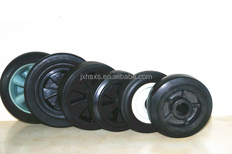 plastic rubber wheel