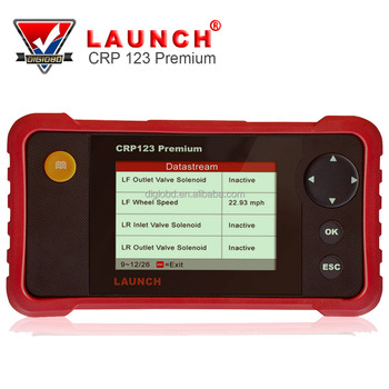 2018 Professional Newest Launch OBDII Code Reader Scanner 123 Premium Free Internet Updates CReader Crp 123 Premium OBD2