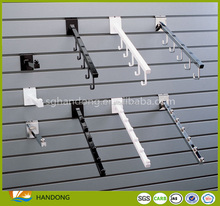 Retail Slat wall MDF board wood display slatwall panels