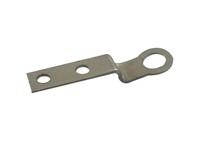 Customied spring steel auto fastener z shpe support clip bracket furniture hardware