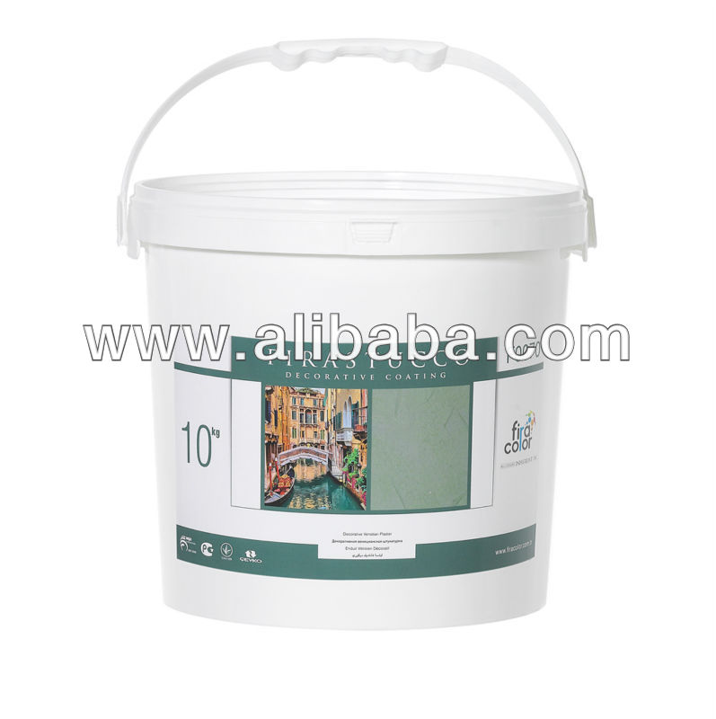 Firastucco Interior Decorative Wall Coating containing various types of quartz, limestone and pigments