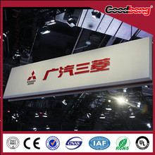 3d acrylic advertising auto logo signs and names billboard