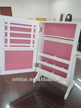 Small Mirror Jewellery Cabinet,Upgrading Mirror Jewellery Cabinet,Table Mirror Jewellery Cabinet