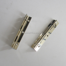 Nickle Plated Slotted Piano Hinge For Box/Boat