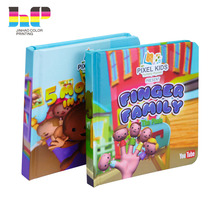 Famous and professional moral english story books hardcover child book printing