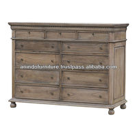 Natural Chest with 11 DRawers