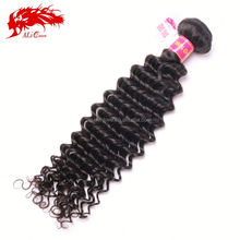 Wholesale factory price outlet brazilian deep curl hair weaving