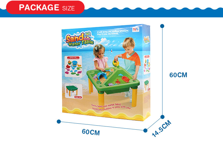 Funny popular design summer kids game toy sand table for sale