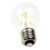 UL CE RoHS listed 80Ra Warm White Glass A60 A19 LED Filament Bulb 600 Lumen