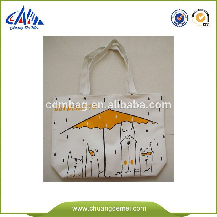 2014 Reusable Eco Natural Handmade Wholesale Plain Canvas Bags