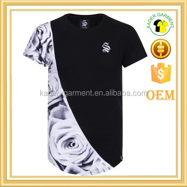 Wholesale Tee Shirt Printing Company Logo T Shirts Made In