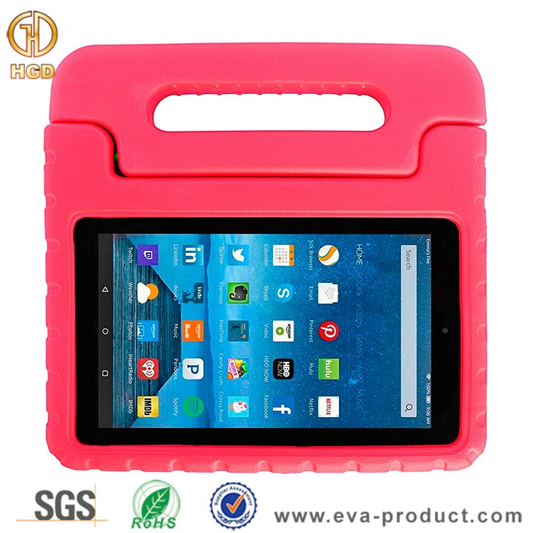child safe drop resistant tablet bumper cover cases for kindle fire 7 2015 released