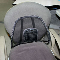 Super comfortalbe wholesale car and home seat massage office chair back support cushion