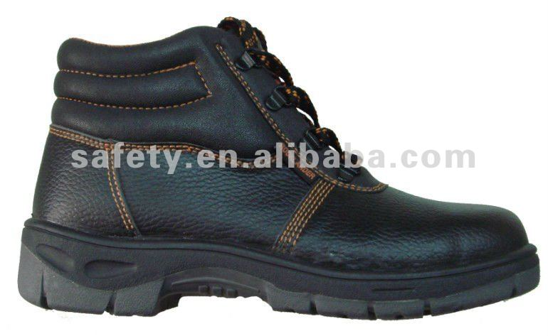 Safety working leather shoes in high quality