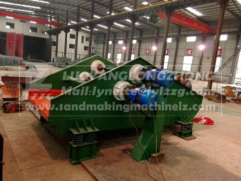 dewatering vibrating screens for coal slurry
