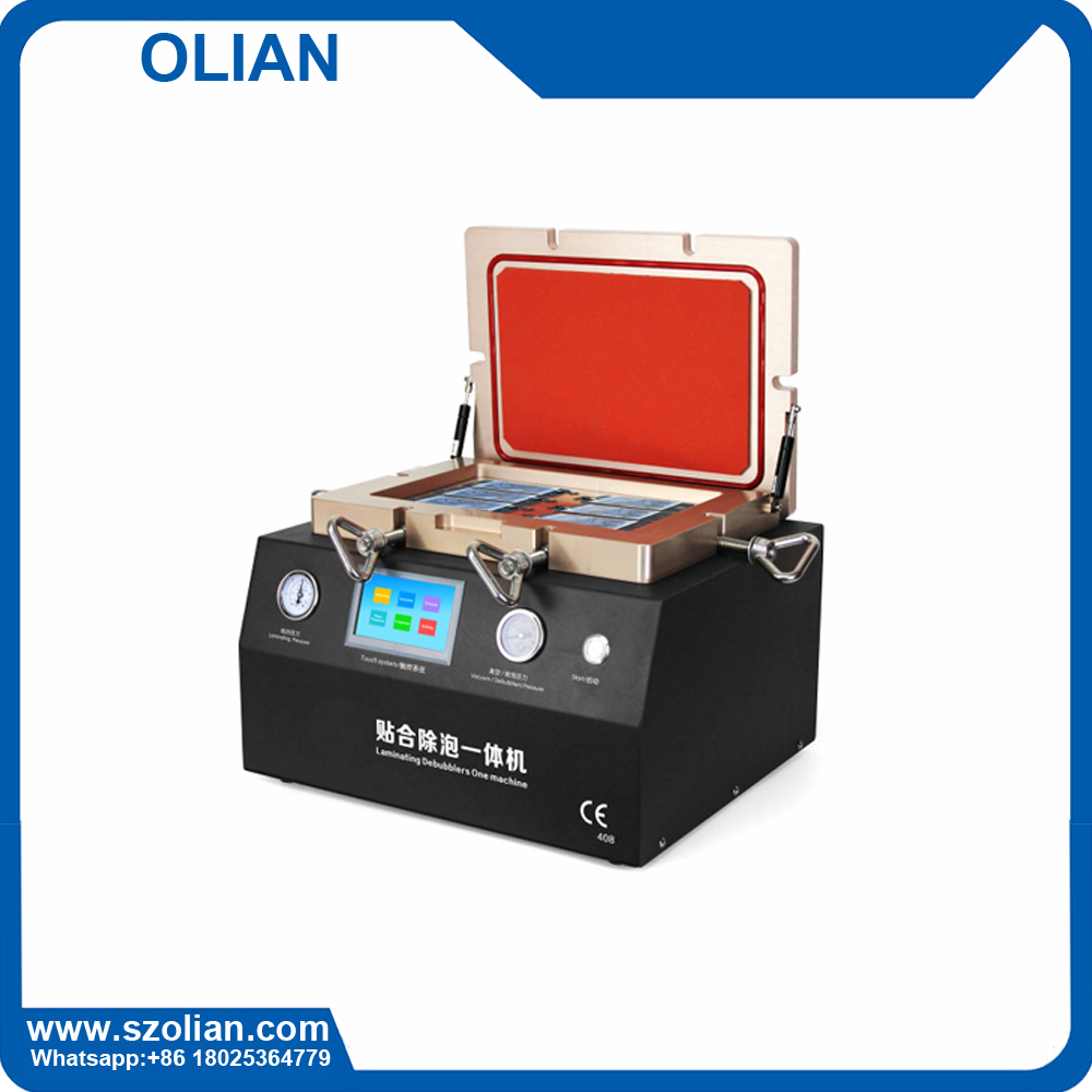 mobile phone LCD repair machines All in one Laminating and bubble remove machine mobile phone lcd making machine OL-408