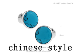 Made In china, High Quality Round Cufflinks