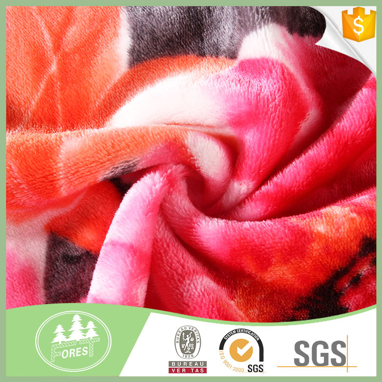 Fashion Design Soft Touch Feeling Coral Berber Fleece Fabric