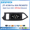ZESTECH double din car stereo FOR Kia PICANTO dvd player for cars Supporting radio fm am rearview camera A8 chipset