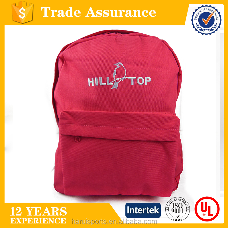 Simple student backpack bag