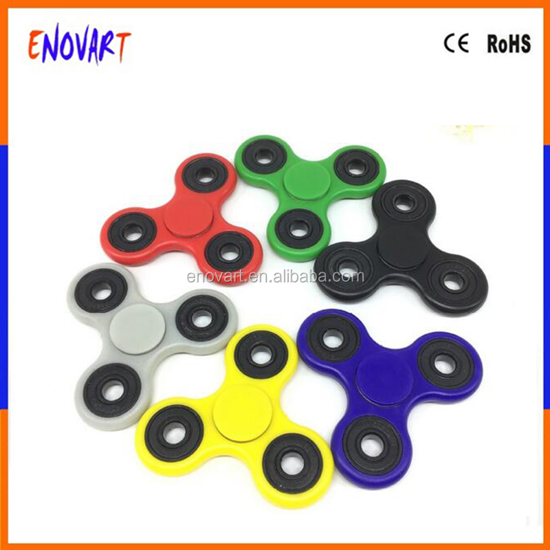 Wholesale Finger Spinner Enovart Hand Spinner Plastic 4 Bearings Fidget Spinner