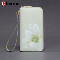 New elegant women lady purse zipper card holder