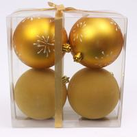 Plastic wholesale shatterproof christmas ball ornaments