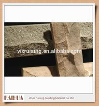 Mountain texture clay brick veneer in handmade with cheap price