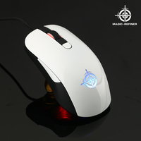 Alibaba Wholesale professional gaming 6D optical mouse and keyboard with led breathing