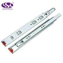 triple extension telescopic kitchen cabinet heavy duty drawer slide channel