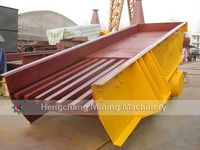Large Capacity Grizzly Vibrating Feeder Price For Gravel Production Line