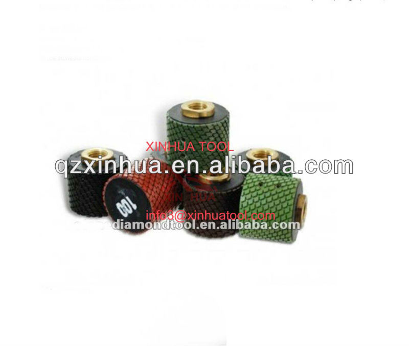 Wet use granite diamond polishing pads,drum polishing pads for granite and marble