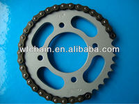 russian motorcycle sprocket chain set