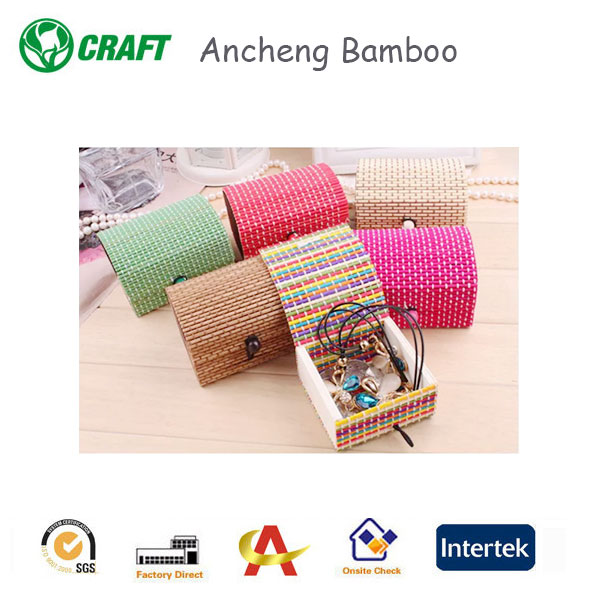 Fancy best price gift bamboo box, bamboo handicraft products