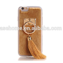 Soft fur Tassel Phone protect Cases Covers For iphone 5/5s