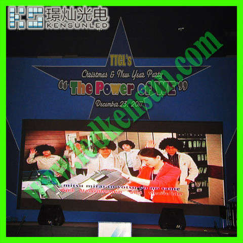 small size led screen display indoor