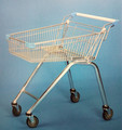 Hot Zinc plated store shopping trolley carts