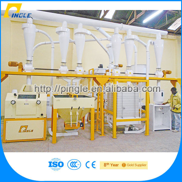 High efficiency flour stone mill for sale