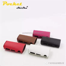 High quality ecigarette cover istick TC 40W leather case TC Holster For istick TC 40W main body