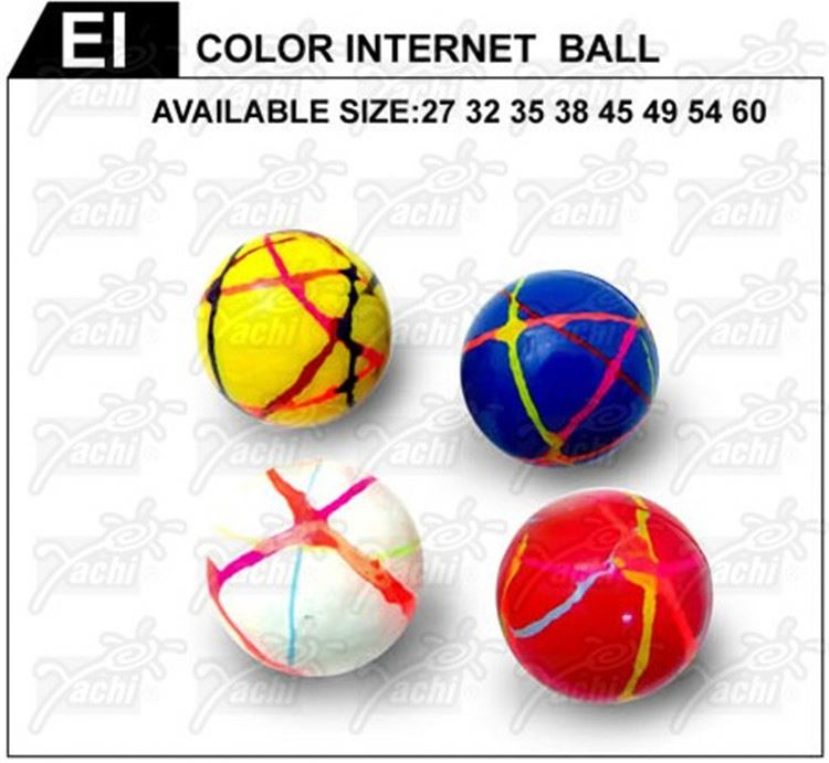New product different styles bouncing rubber band ball with good prices