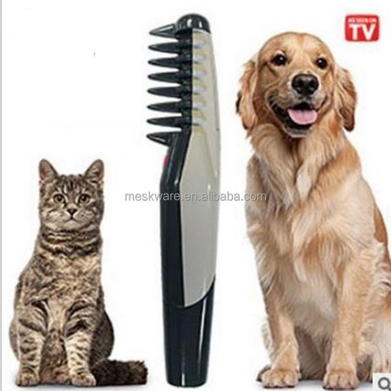 Electric pet comb pet grooming comb dog comb