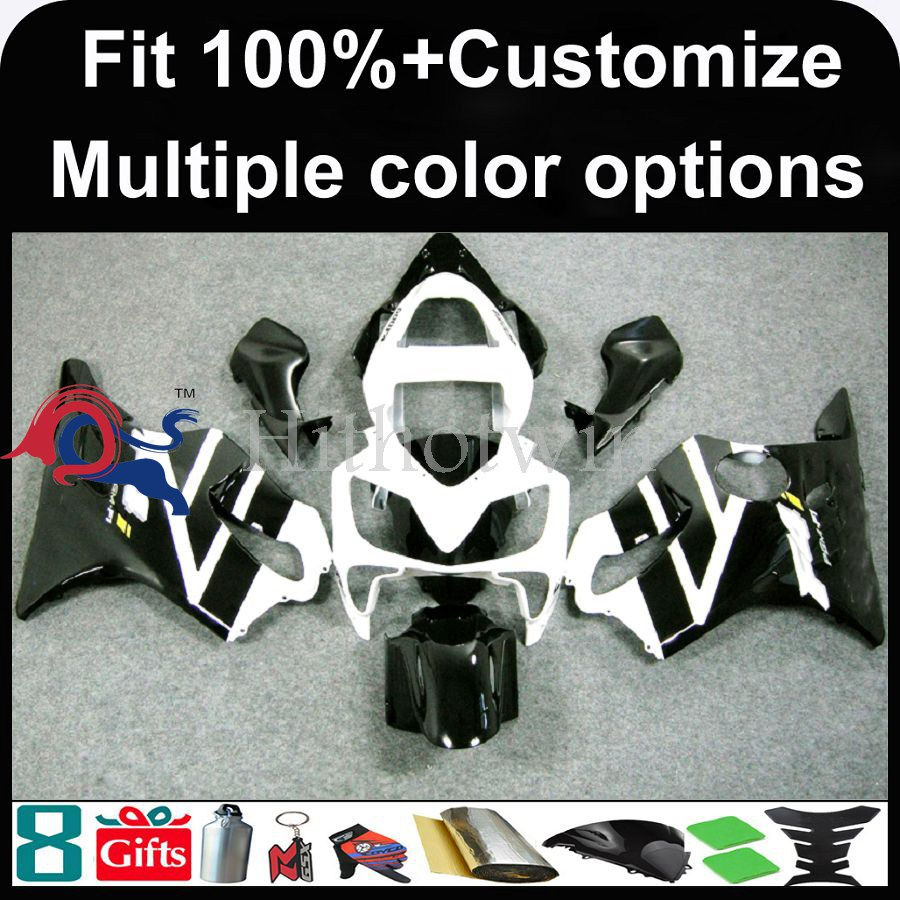 INJECTION MOLDING panels 2001 2002 2003 CBR 600 F4i white black ABS Plastic Fairing For HONDA CBR 600 F4i CBR600F4I 2001 2002 20