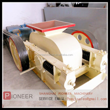 high efficiency and high capacity double roller crusher!