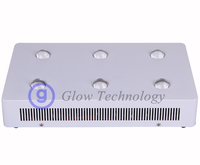 COB LED Grow Light Panel Full Spectrum 360W with 6pcs Cr ee CXB3590 or CXA3590 5000K and Meanwell drivers for vegetables growing